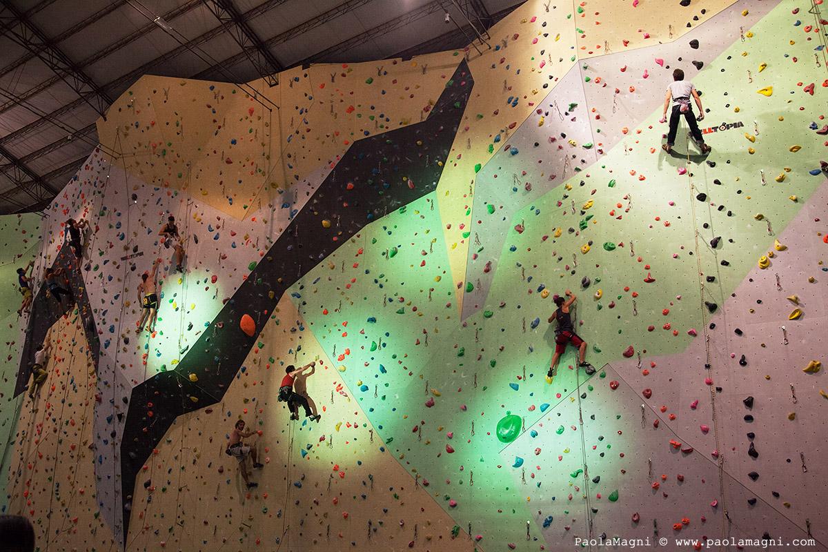 urban wall milano climbing factory lead rockspot nordovest