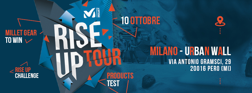 rise up tour millet urban wall milano climbing factory rockspot nordovest