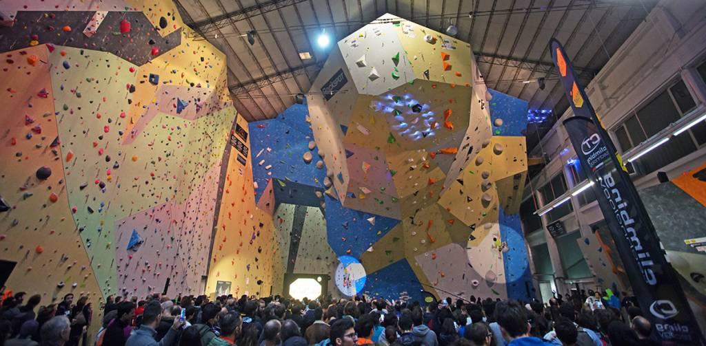 milano climbing expo urban wall evento arrampicata