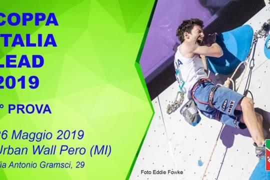 Coppa Italia Lead – 1° Prova